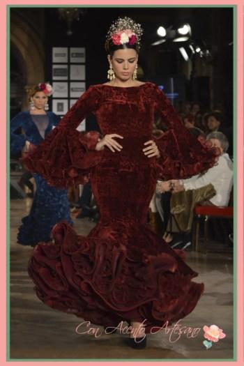 Rojo flamenco de Pepe Fernández Sevillanía