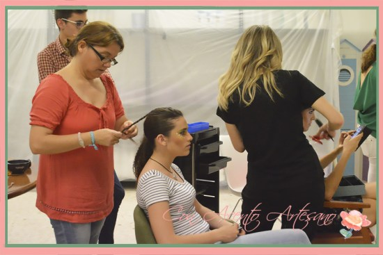 Equipo peluquería y maquillaje de Verónica Carrión