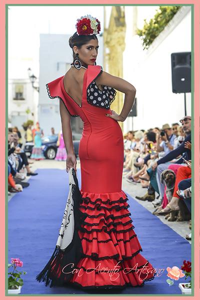 Trajes de flamenca de Fabiola en Vejer Flamenco