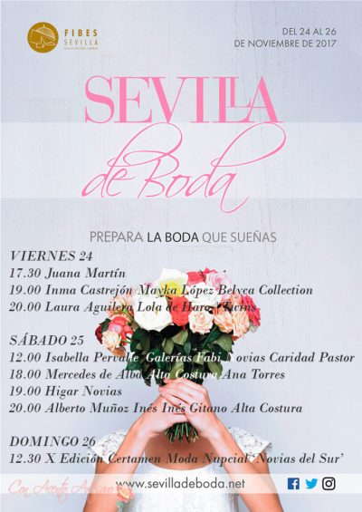 Programa Sevilla de Boda 2017
