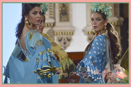 Las flamencas de la nueva colección 'A mi manera' de Ángeles Verano en We Love Flamenco 2018