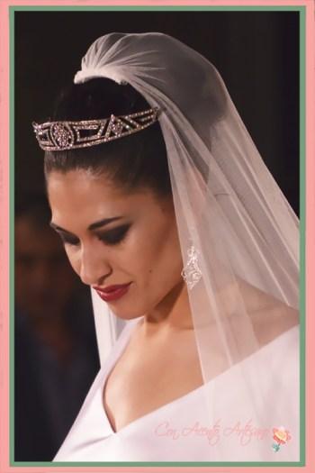 Tiara para novia estilo prusiana de José Álvarez Joyeros