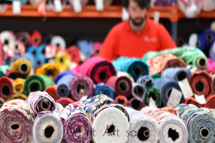 Textiles para trajes de flamenca en Flamentex