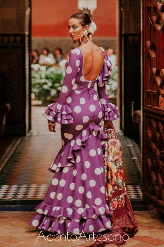 Traje de flamenca de El Ajolí