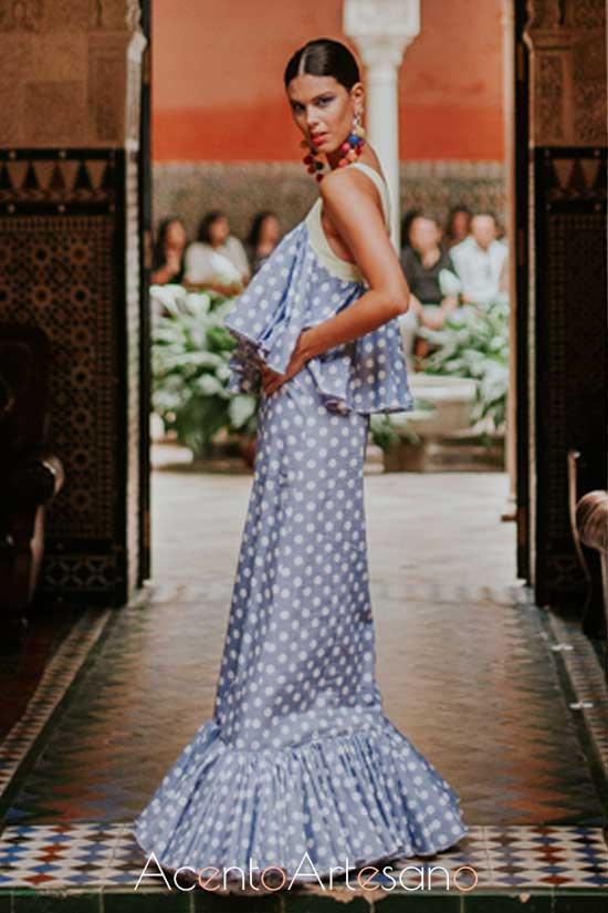 Traje de flamenca de Juan Boleco