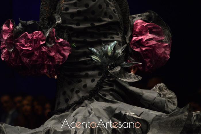 Traje de flamenca de Yolanda Rivas en SiMOF 2016