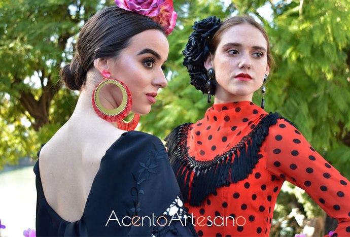 Trajes de flamenca de la firma Mari Cruz