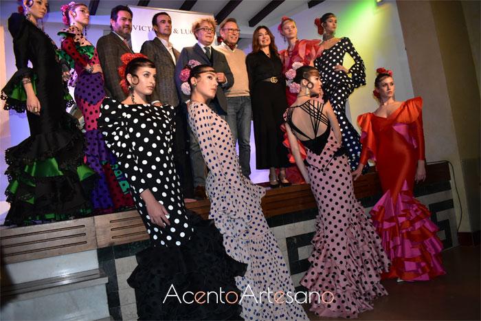 Presentación colección flamenca de Victorio y Lucchino por el 25 Aniversario de SIMOF