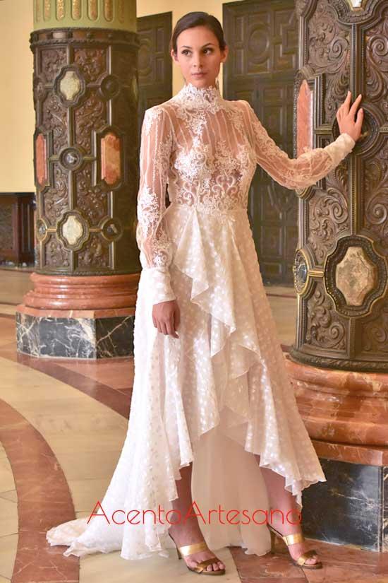 Vestido de novia de Alejandro Postigo