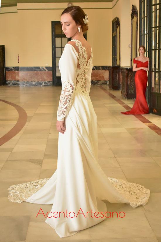 Vestido de novia de Amparo Pardal
