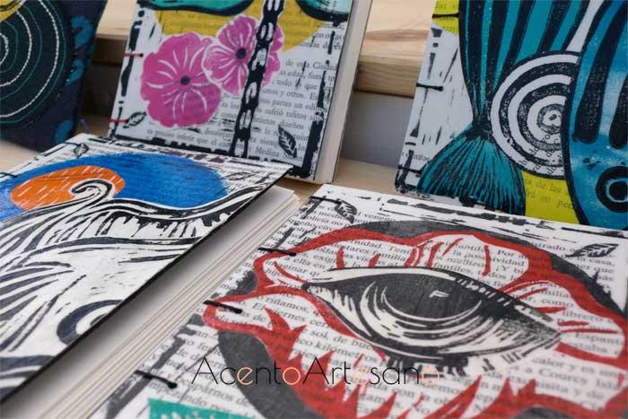 Libretas ilustradas en Gran Soho Alameda