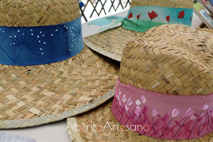 Sombreritos ilustrados de Guirigori en Gran Soho Alameda