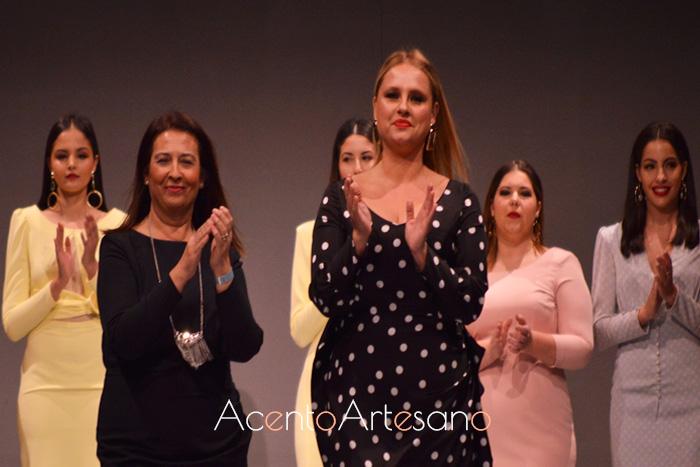 Rosas Rosas  tras el carrusel de su colección Carmen presentada en Code 41 Trending