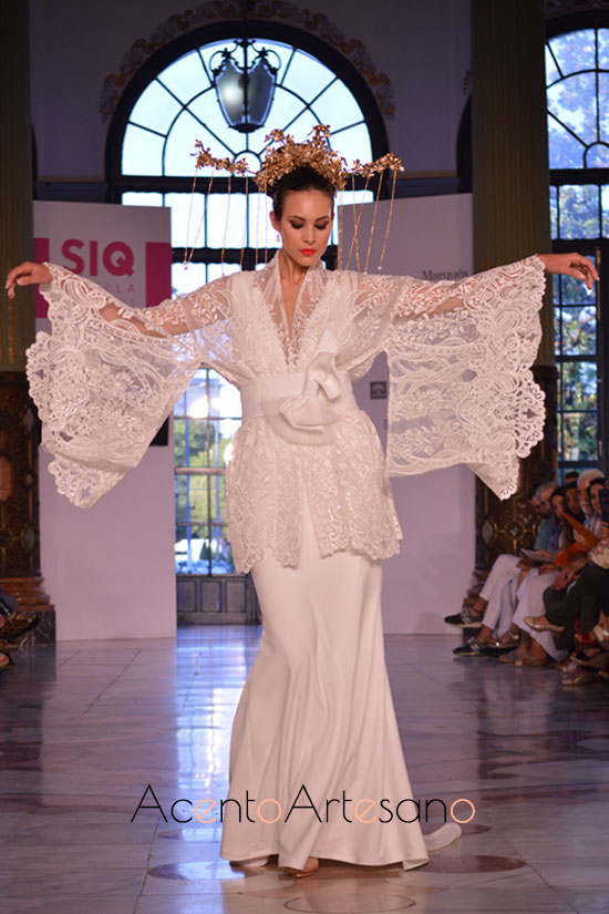 Vestido de novia de Francisco Tamaral en SIQ 2019