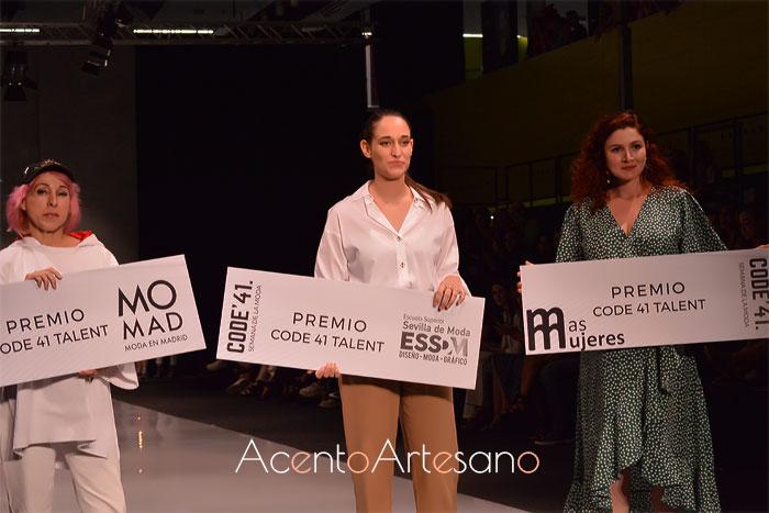 De izquierda a derecha Awita, Rocío Ballesteros y Gabriela Grajales ganadoras en VII edición Code 41 Talent