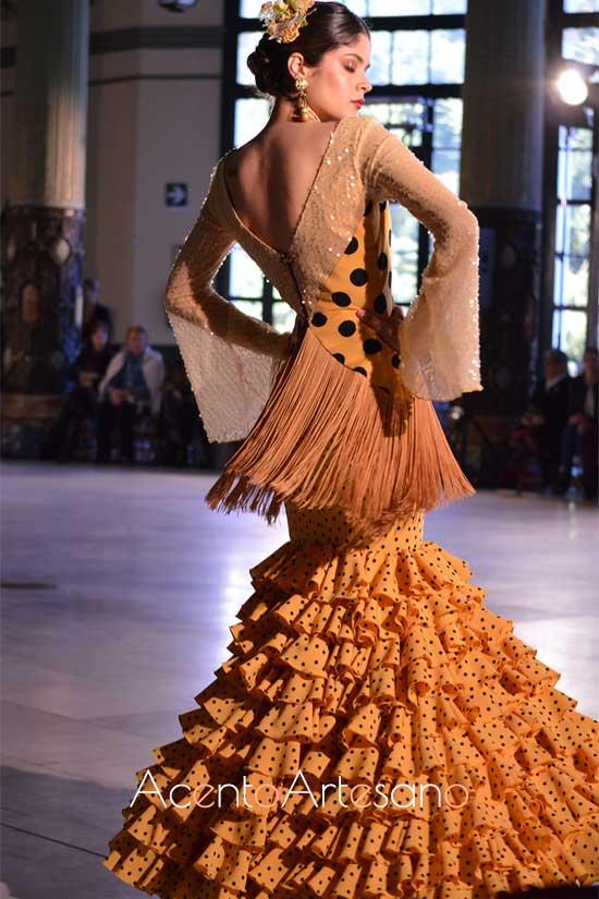 Traje de flamenca de Laura Díez Romero