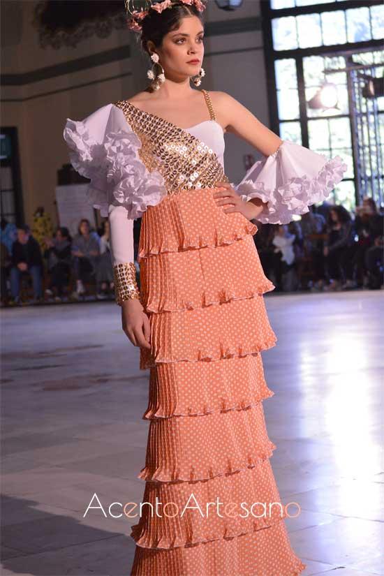 Traje de flamenca de María Teresa Muñoz