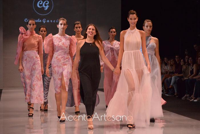 Consuelo García tras el carrusel de su colección I had a dream en Code 41 Trending