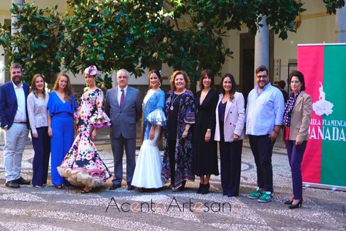 Presentación a prensa de la convocatoria para el cartel de la tercera edición de Pasarela Flamenca Granada 2020