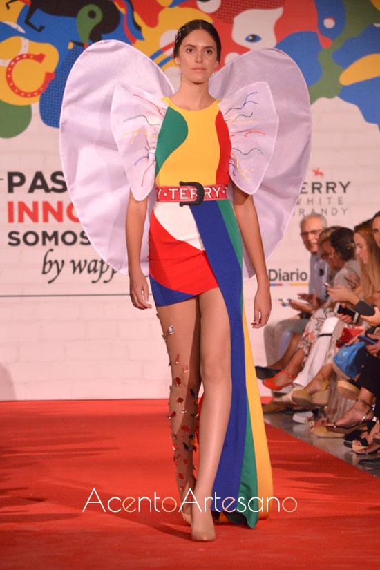 Andrea Ferández, tercer premio primera edición Pasarela Innova by Wappíssima