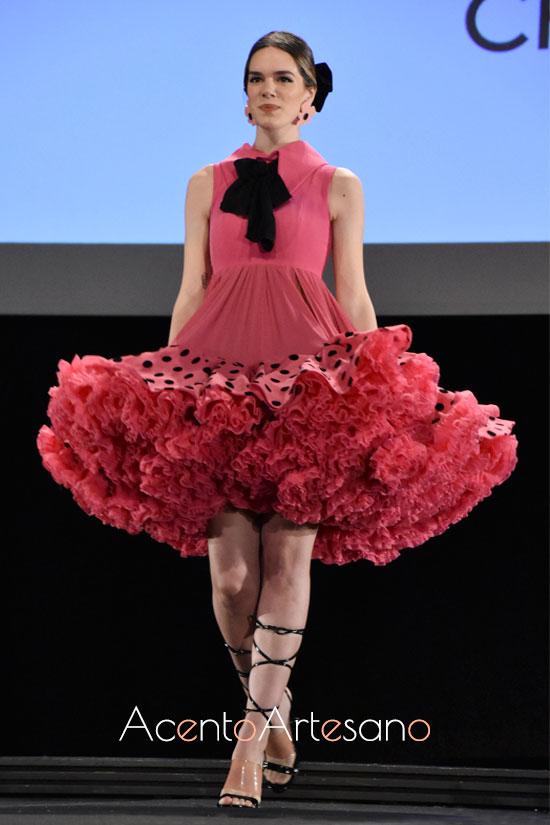Traje de flamenca estilo Marisol de Carlos Checa