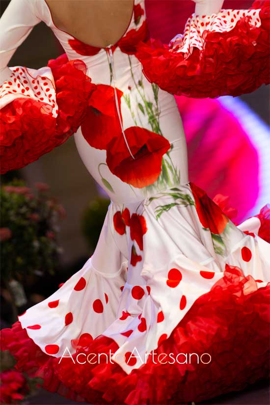 Traje de flamenca de La Piconela
