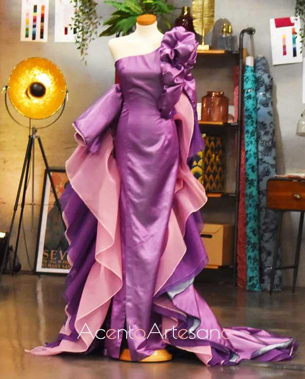Diseño de Rosa, finalista de Aguja Flamenca