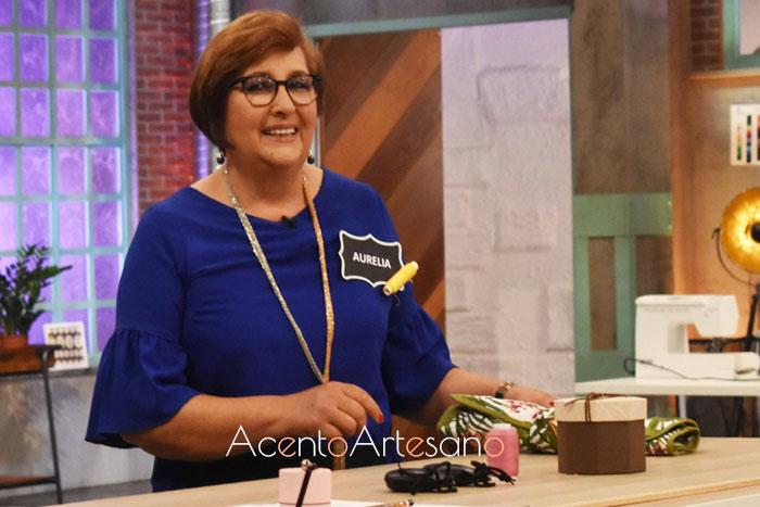 Aurelia, la nueva concursante de Aguja Flamenca