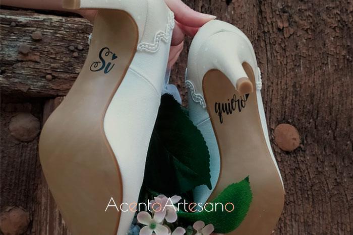 Zapatos de novias, una línea de Zapatos Chelis