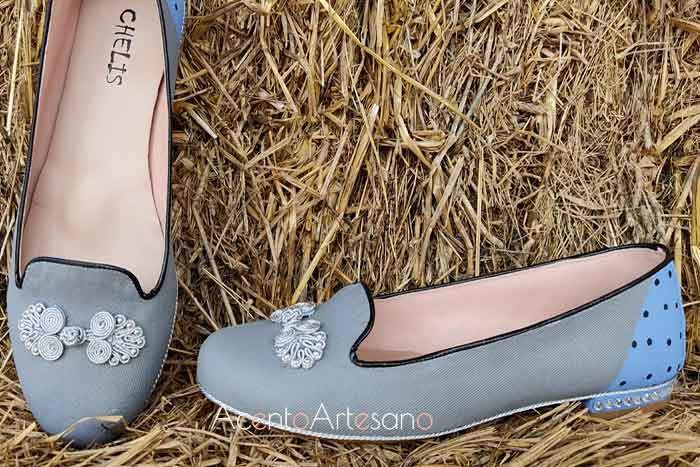 Pasamanería en la nueva línea de sleepers de Zapatos Chelis