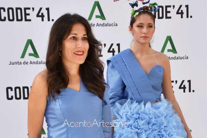 Pilar Rico en photocall tras su desfile en Code 41 Trending