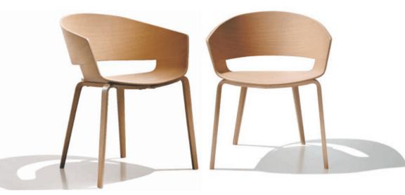 El impacto ambiental de una silla