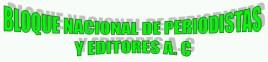 36 Bloque Nacional de Periodistas y Editores
