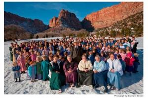 Poligamia de mormones, en Utah, Estados Unidos, por Stephanie Sinclair.
