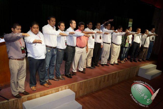 CONAPE fomenta la unión del gremio periodístico en Tabasco (88)