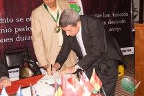 Firma de convenio entre CONAPE y la asociación de periodistas de Colombia CORPECOE