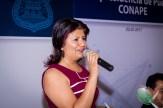 Mirna Toxqui habla de la importancia de la unión de los periodistas en Puebla.