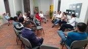 Reunión informativa con periodistas de radio, televisión, medios impresos y digitales en el Sur de Jalisco.