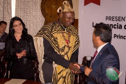 Visita del Principe de Camerún-7