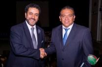 Luis Ignacio Lujano (izq) con el nuevo Vicepresidente de CONAPE en el Valle de México, Jorge Rivera Tapia (dcha)