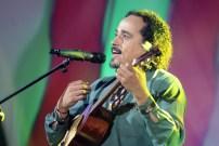 El cantor popular Alí Alejandro Primera amenizó la Gala Audiovisual con un repertorio de música tradicional. (Foto: Jesús Fernández)