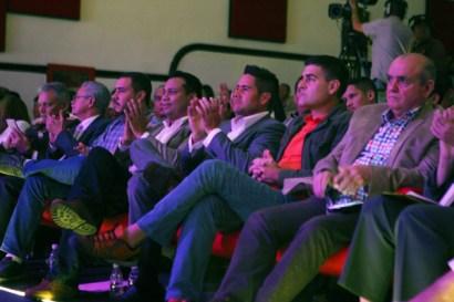 El presidente de TVES, Winston Vallenilla, en la Gala Audiovisual de CONATEL 2016. (Foto: Jesús Fernández)