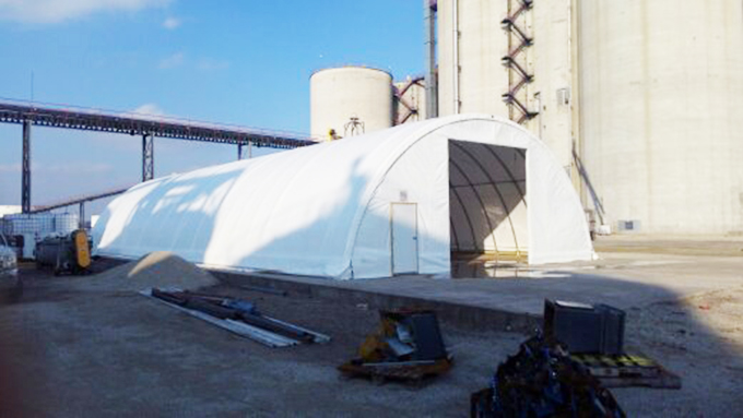 One Earth Energy Hoop Building Steel Frame Building