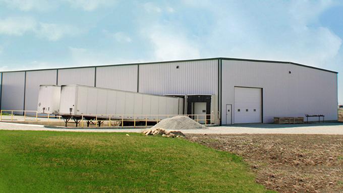 Slagel Manufacturing Steel Frame Building