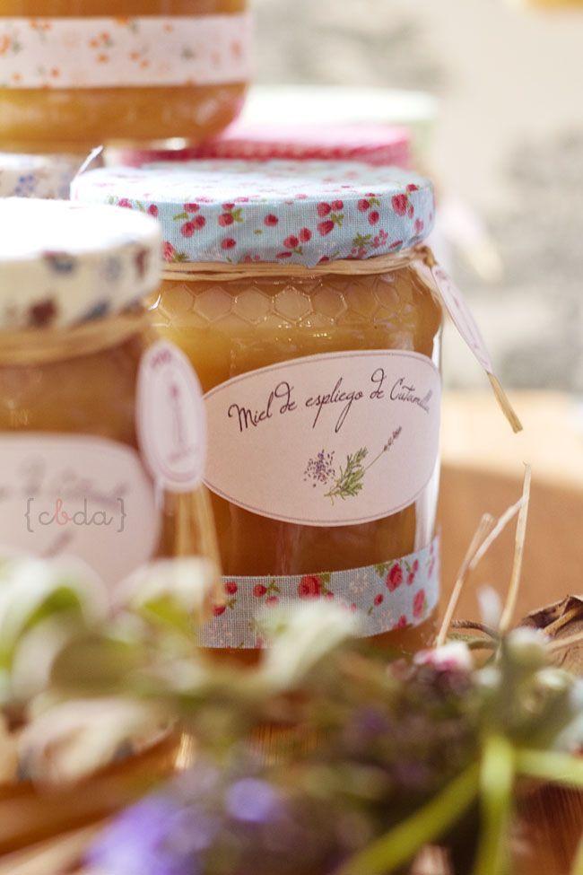 Foto de tarros de miel