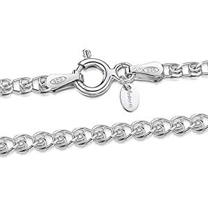 🥇12 Mejores Cadenas de plata para hombre 2020✅ 3