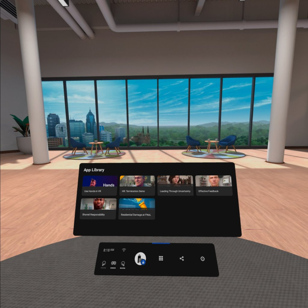 Oculus Quest 2 for Business App Library