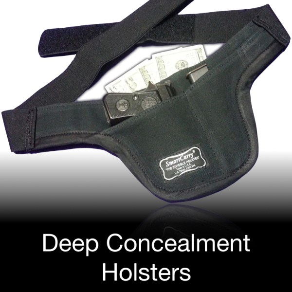 Deep Concealment Holsters