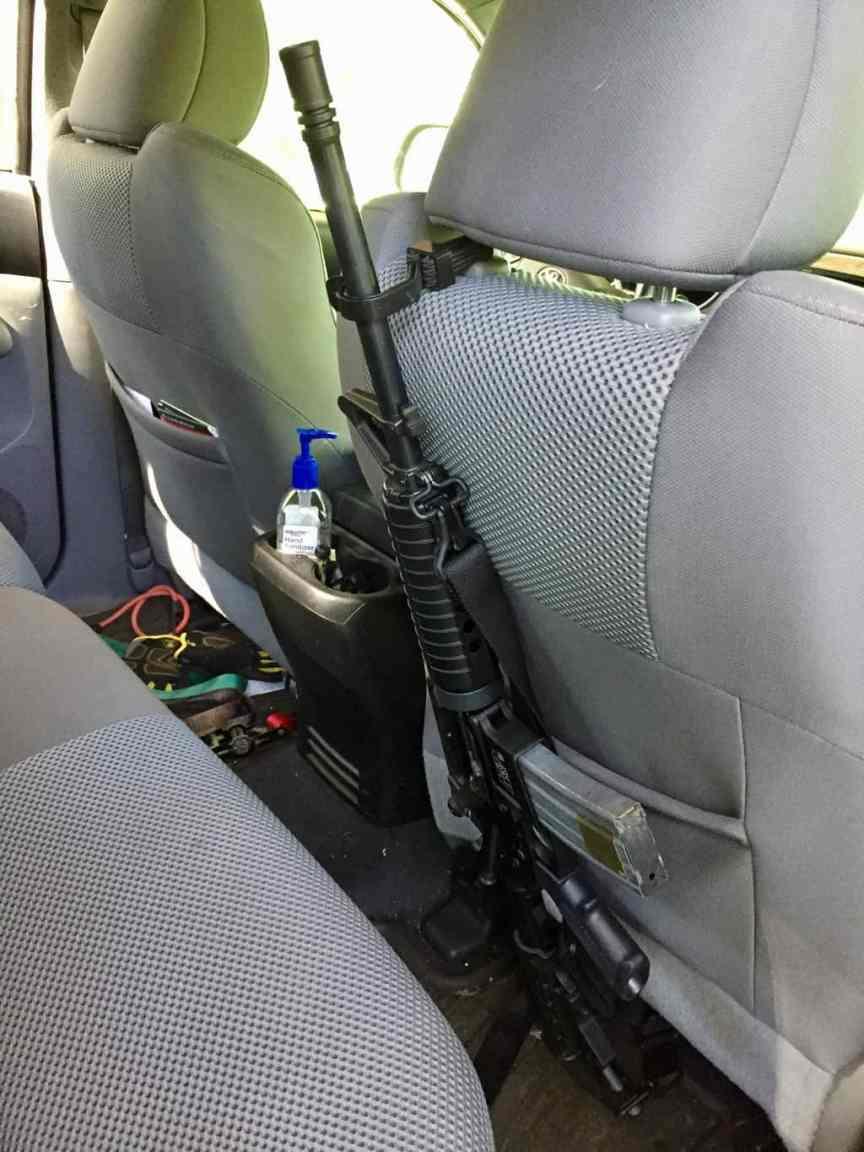 carrying a long gun in TN snap rack