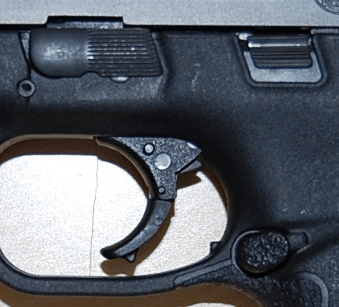Smith & Wesson M&P .40 trigger